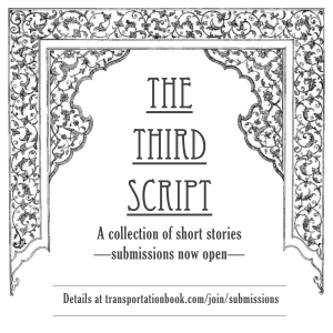 the third script front page flyer